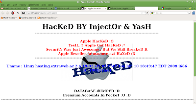 Apple premium reseller alma store hacked by indian hackers vogh
