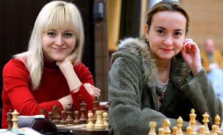 Échecs : Anna Ushenina (2452) et Antoaneta Stefanova (2491) © site officiel
