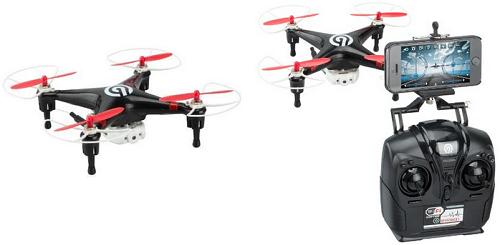Ninetec Spyforce1 FPV-UAV less than 100 euros