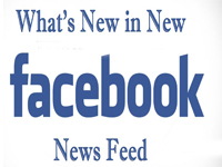 Updates about Facebook News feed in 2013
