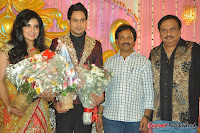 Celebraties at Actor Bharat n Jessy Wedding Reception Photos+%2528124%2529 Actor Bharath n Jessy Wedding Photos