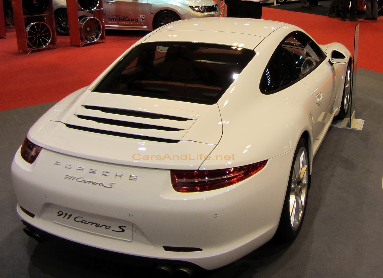 Sexy Teen New Porsche 911 Received Red Dot Design Award