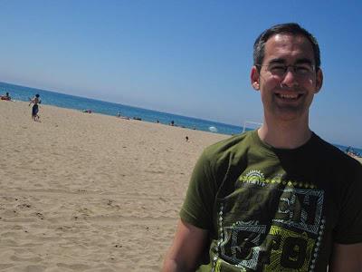 Castelldefels beach located near Barcelona