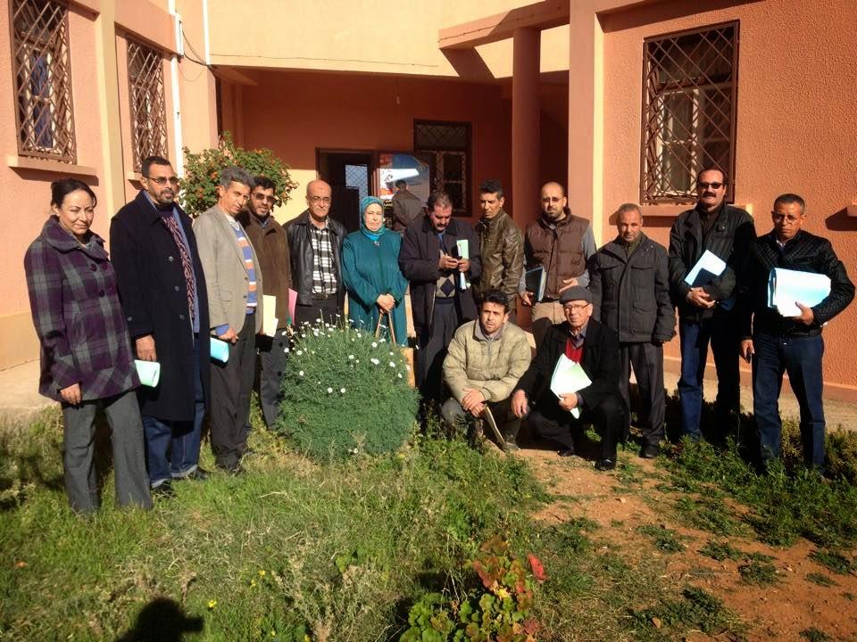بركا ن جمعية تنمية التعاون المدرسي تجدد مكتبها الإقليمي