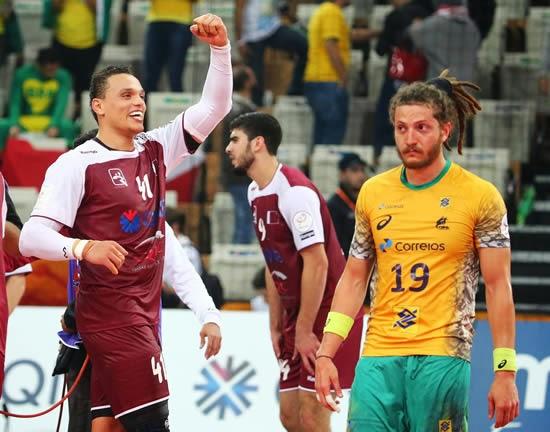 Partido completo Qatar-Brasil - VIDEO