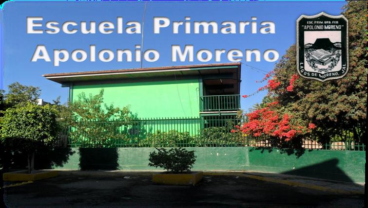ESCUELA PRIMARIA APOLONIO MORENO