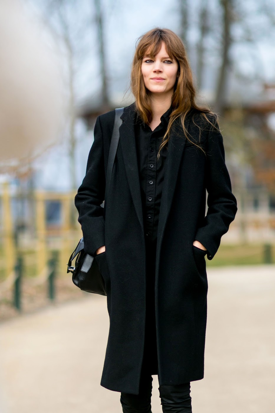 Model Street Style Freja Beha Erichsen After Louis