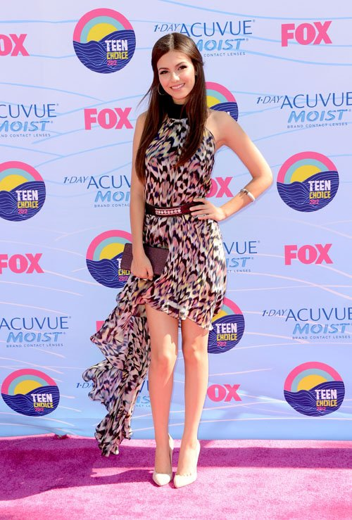 Victoria Justice: 2012 Teen Choice Awards Stunner » Gossip | Victoria Justice