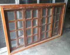 vitro de madeira 1,50x1,20