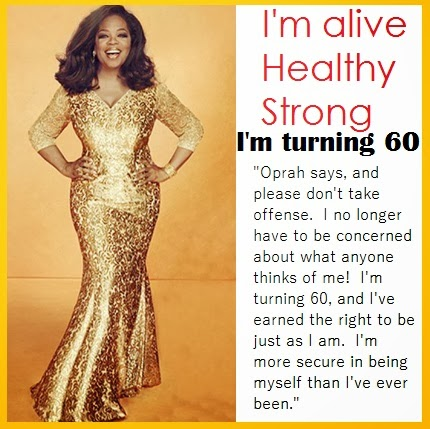 Oprah is turning 60