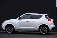 2015 new Nissan Juke edition NISMO side view