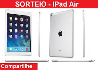 Promoção  Quero ganhar um iPad Air 2 no Dia dos Namorados!