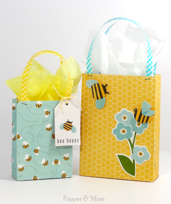 FREE Gift Bag SVG Cut File | popperandmimi.com