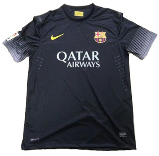 Uniforme Barcelona Third 2013-2014