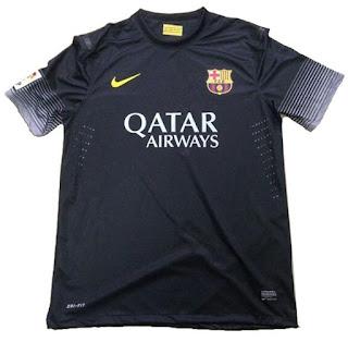 Uniforme Barcelona Third 2013-2014