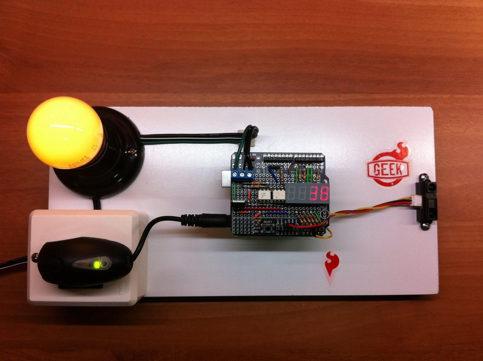 Arduino 230v Light Bulb Dimming Portugal 220V 50