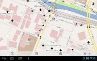 MapDroydでの地図表示