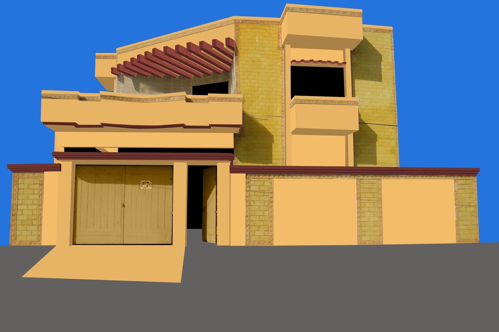 Colours For Front Elevation : Paints of ideas pakistan front elevation the color image