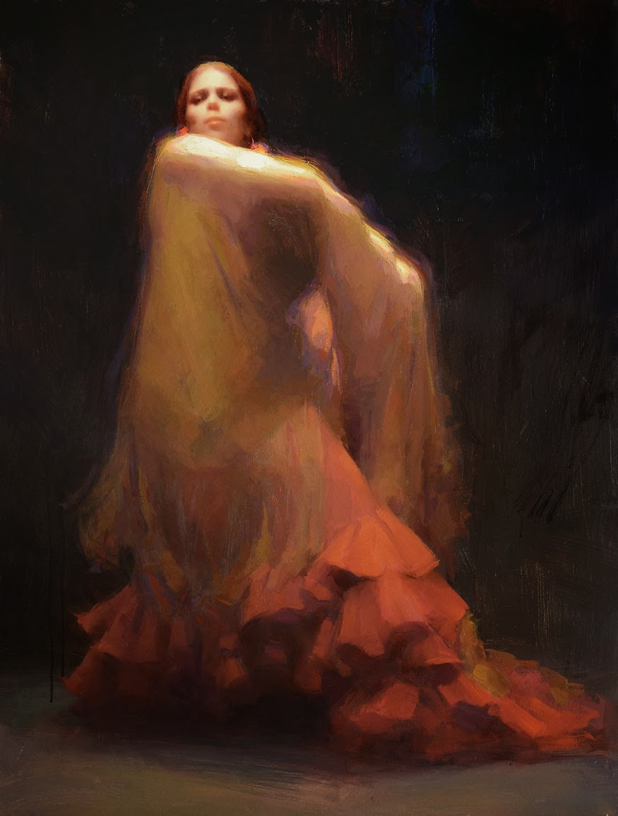 Jeremy lipking palette oil color palettes golden shawl susan lyon 30x40 oil nvjuhfo Image collections