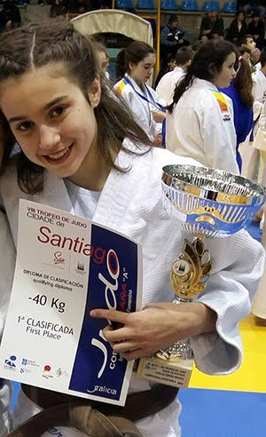 JUDOKA DO ROSAL, CAMPIONA DE ESPAÑA
