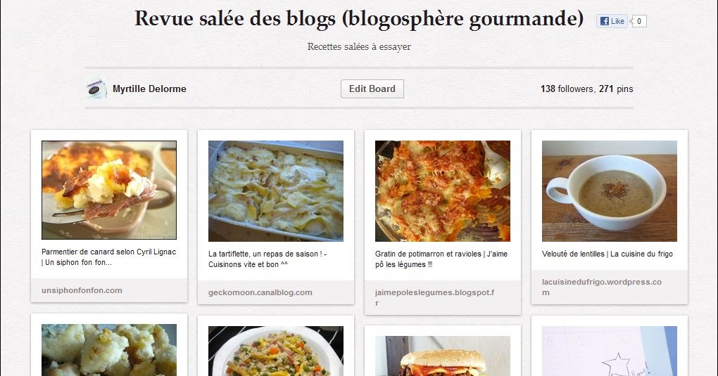 La cuisine de myrtille ma blogosph re gourmande 12 for Revue de cuisine