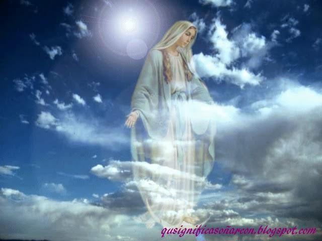 Significado de sonar con virgen vestida de blanco