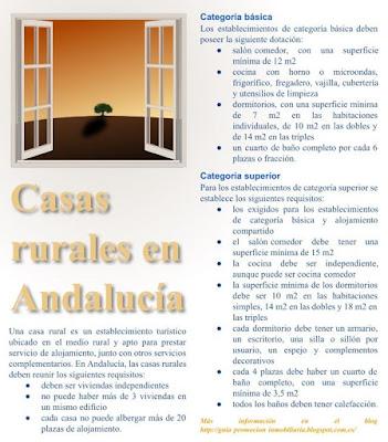 Casa rural en Andalucía