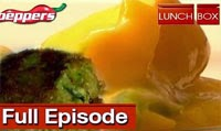 Green Kabab with mango-curd dressed salad – Lunch Box – Easy Recipe