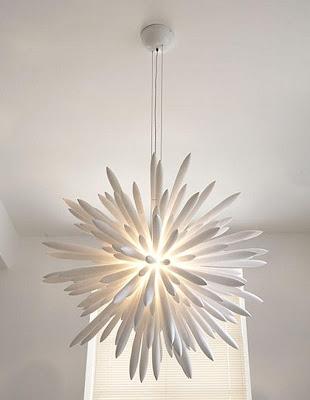 18 diseños de lámparas de techo : decorando mejor