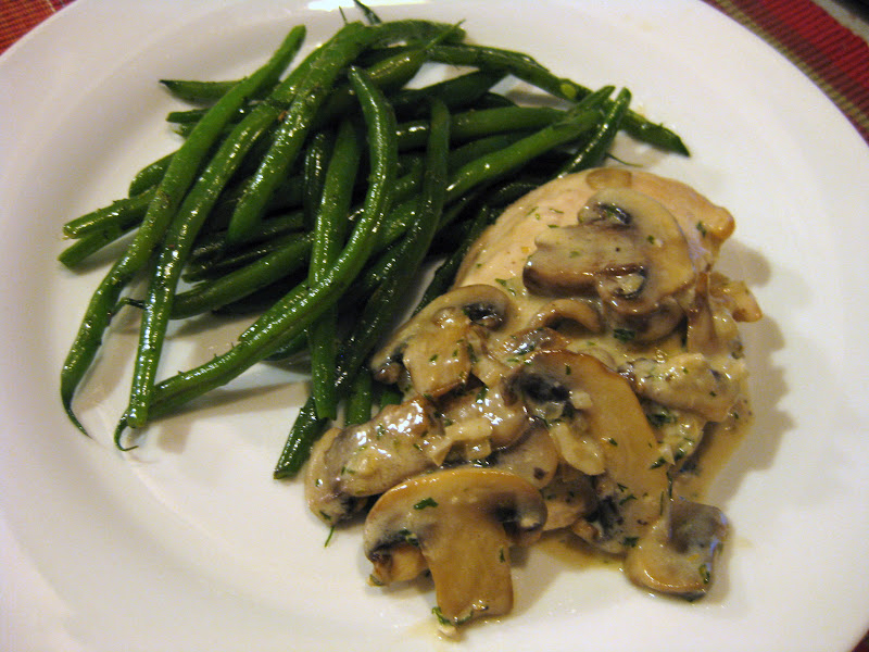 Creamy Green Beans And Mushrooms Recipe — Dishmaps