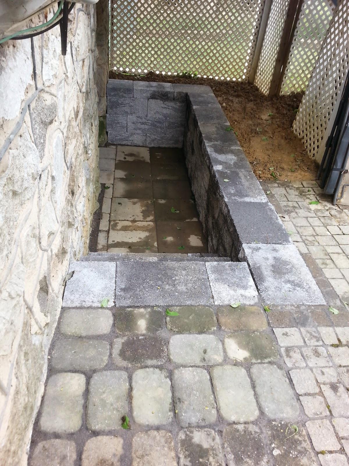 Custom Stoneworks Design Inc New basement steps and
