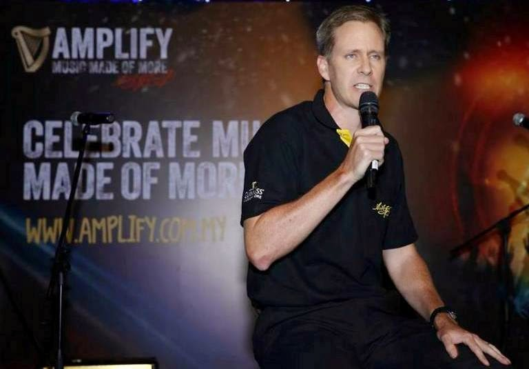 Bruce Dallas, Marketing Director of Guinness Anchor Berhad, GUINNESS Amplify, Music Made of More, Guinness Malaysia, Guinness, GUINNESS Amplify Live Tour, happy hour