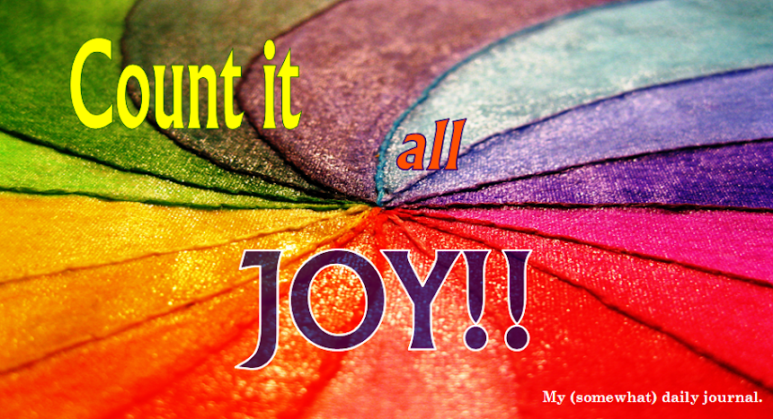 Count it *all* JOY!!