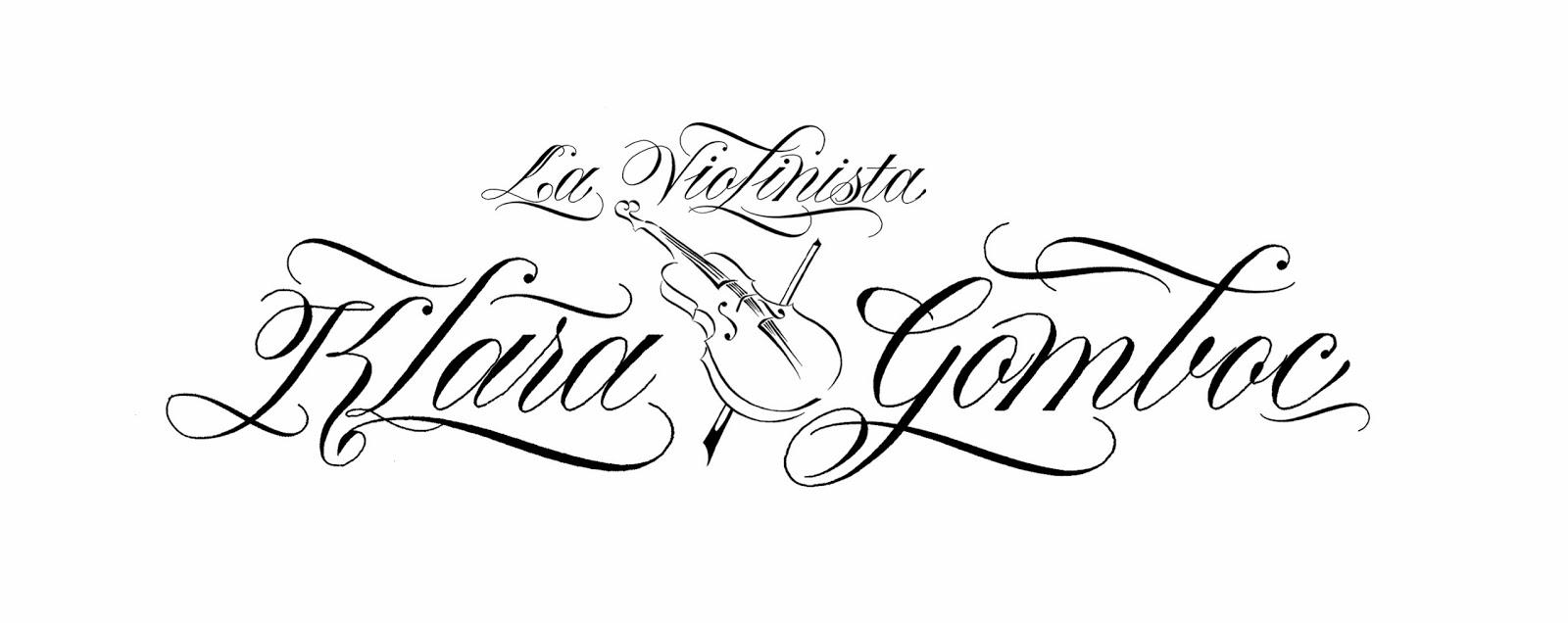 Calligraphy by loredana zega logo tattoo Calligraphy logo