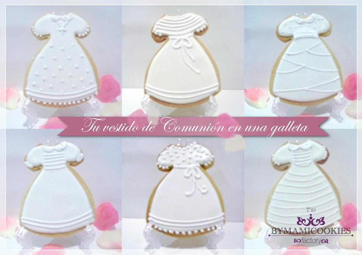 Galletas vestido de comunion