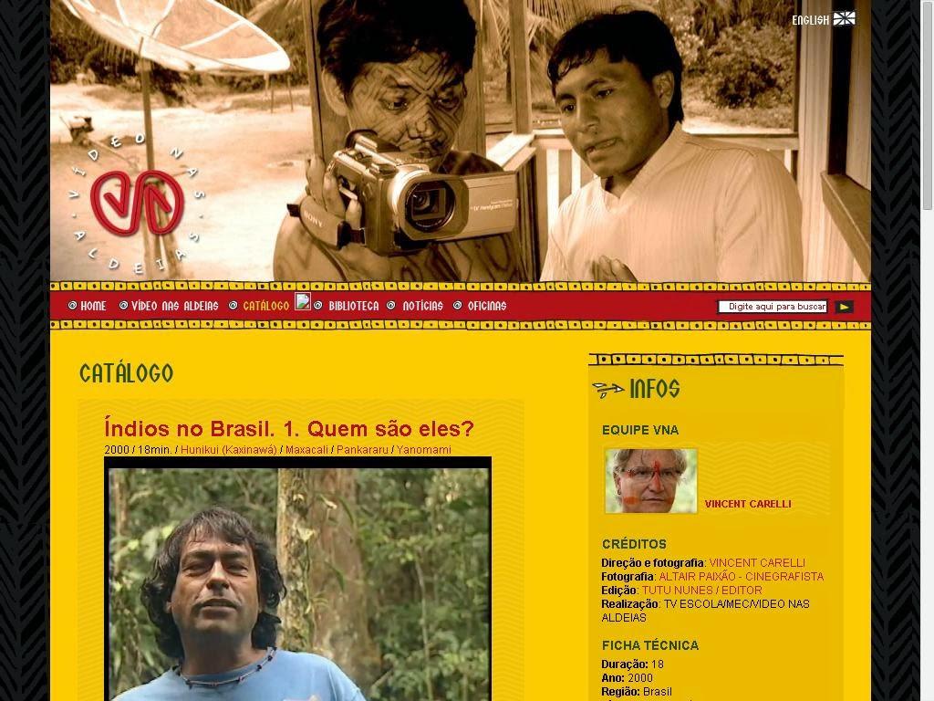 Índios do Brasil. Quem são eles?