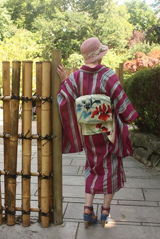 Strawberry Kimono Once A Week Kimono Challenge 2012 Summary