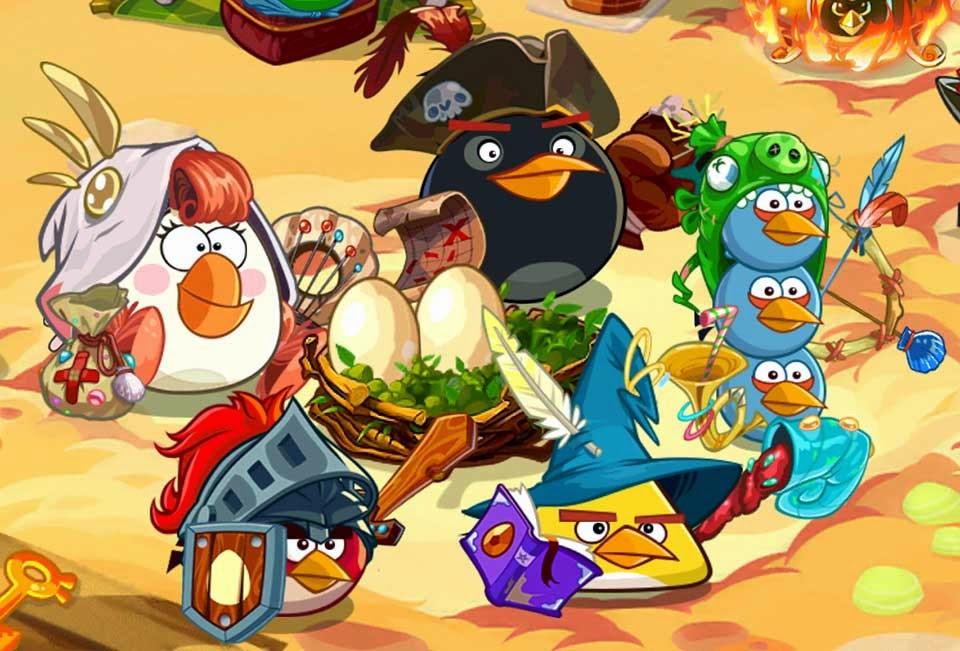 descargar angry birds epic hack apk