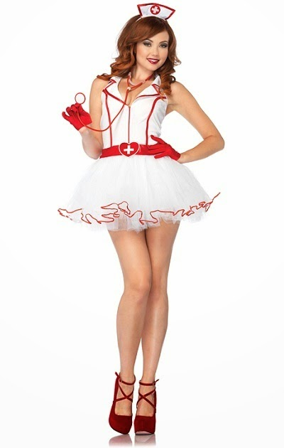 Sexy Adult Ravishing RN Nurse Costume