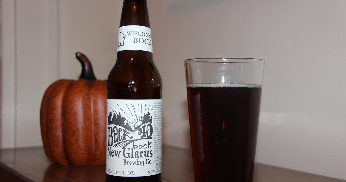 Down the hatch back forty bock by new glarus brewing co for Down the hatch meaning