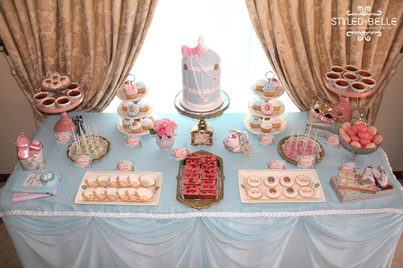 Breakfast in the Front Row: Inspiración para una Baby Shower