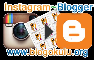 Блоггер инстаграм как сделать