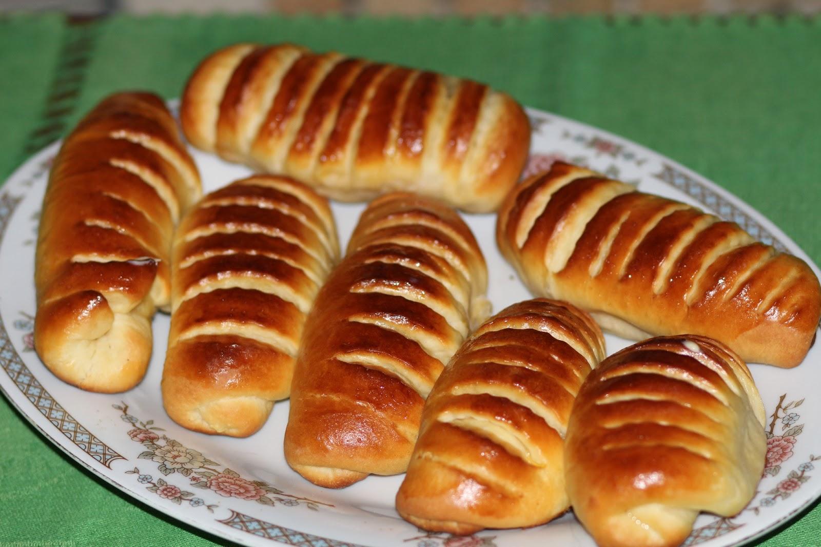 Формы булочек с повидлом из дрожжевого теста пошагово