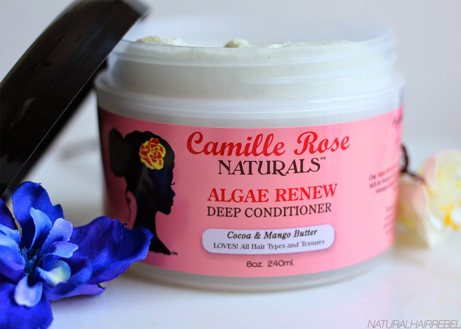 naturalhairrebel.com camille rose naturals algae renew deep conditioner