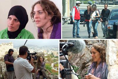 Rodaje del documental  Beirut - Buenos Aires - Beirut, de Hernán Belón