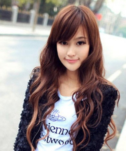 Cute Young Girl Korean Hairstyles 2013