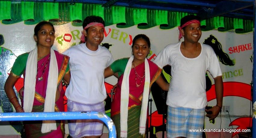 Goan dance on cruise