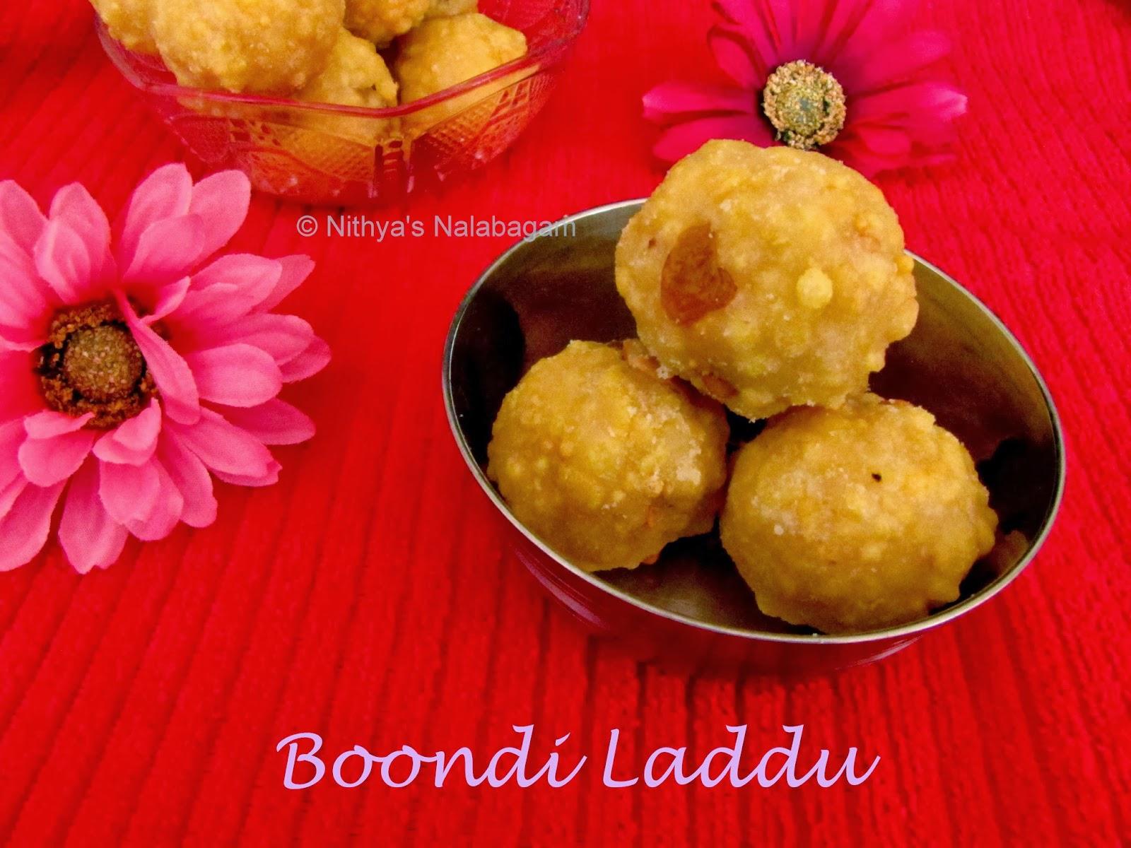 Boondi Laddu