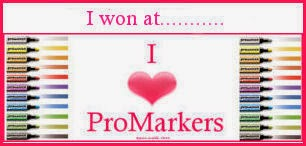 Winner at I Love Promarkers 7th Jan'