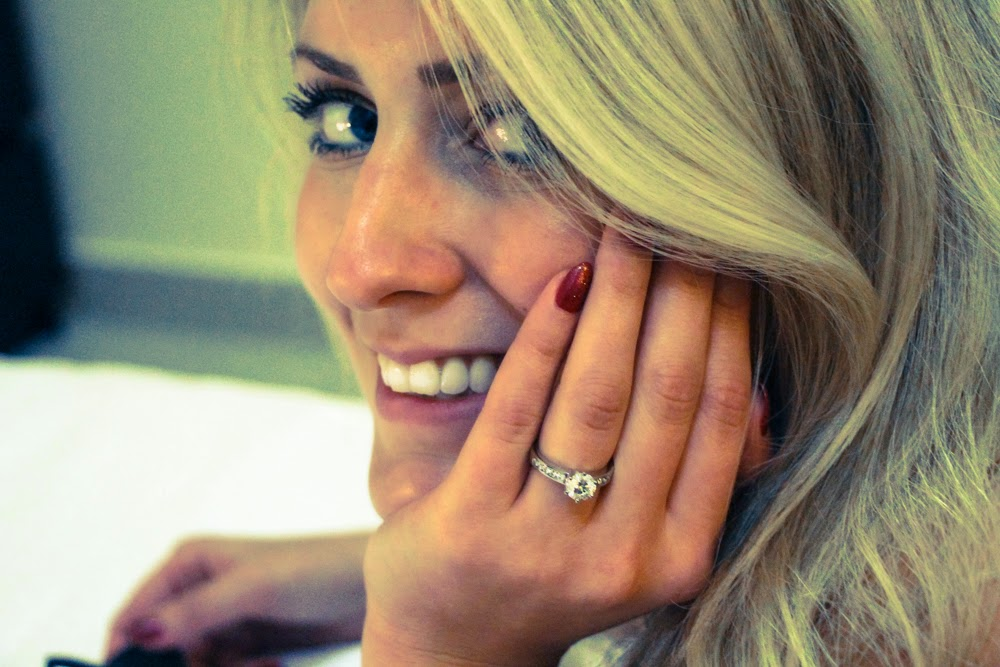 Becky and the engagement ring